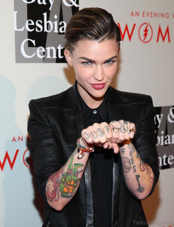 Key Tattoo On Arm