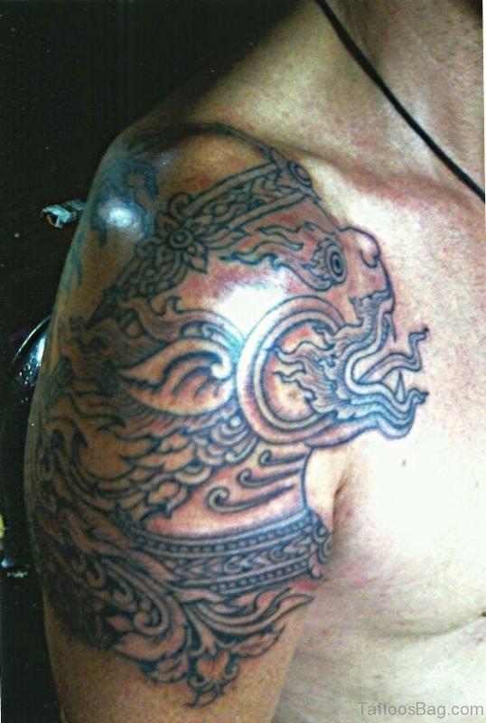 Kon Phangan Tattoo On Shoulder