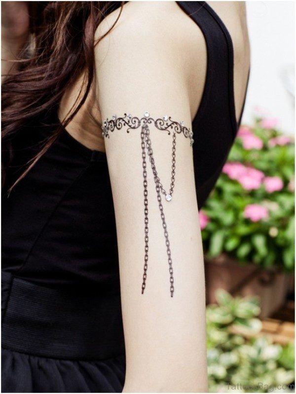 Lace Armband Tattoo