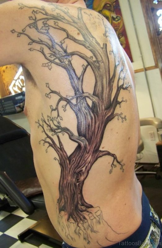 Large Tree Tattoo