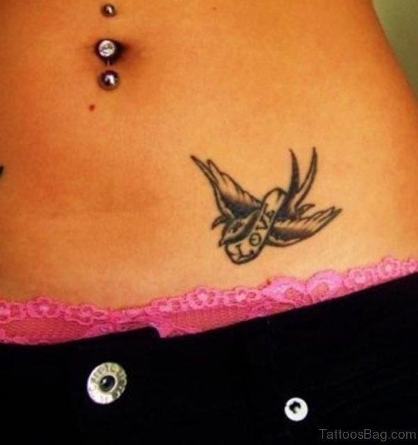 Love Swallow Tattoo