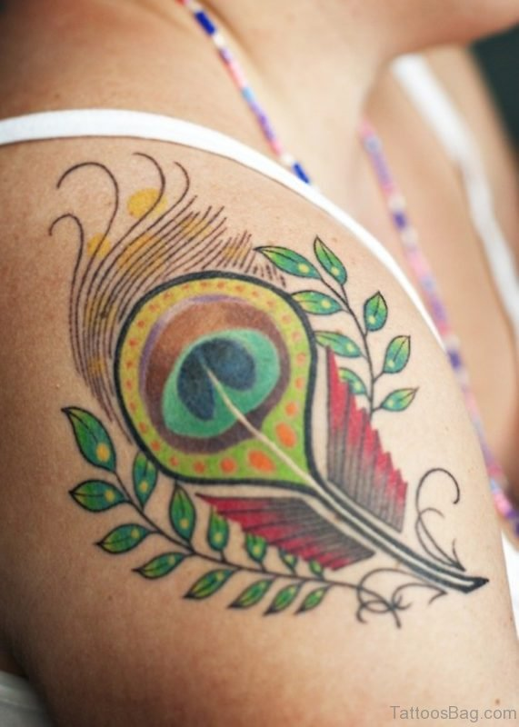 Lovely Feather Tattoo