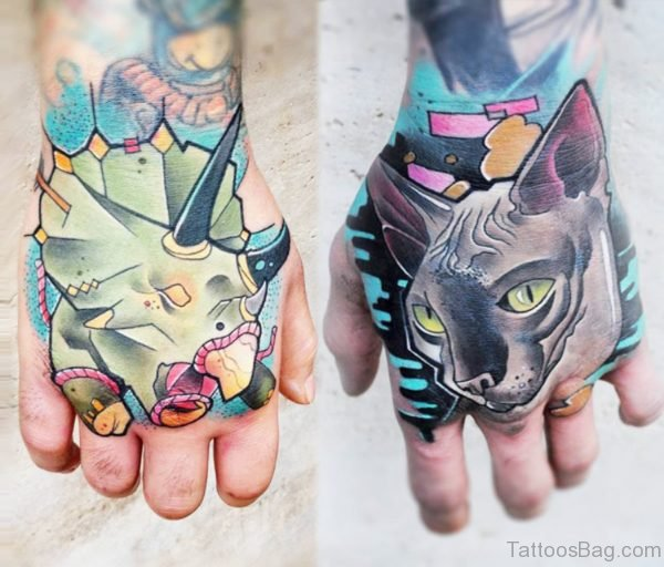 Magnificent Cat Tattoo