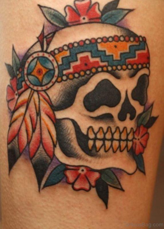 Magnificent Skull Tattoo
