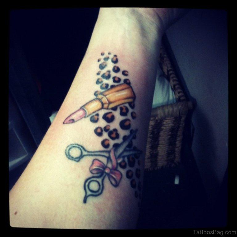 makeup artist tattoo ideas - photo #18