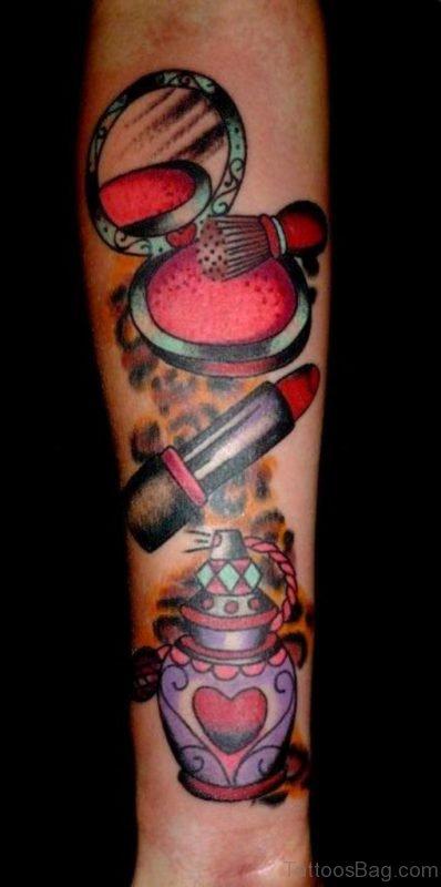 Makeup Tattoo On Wrist