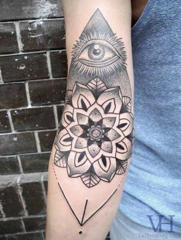 Mandala And Eye Tattoo