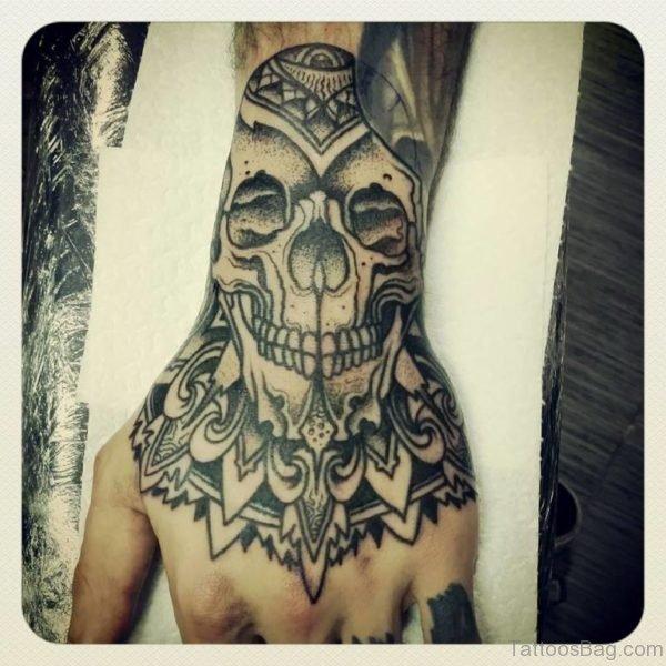 Mandala Skull Tattoo