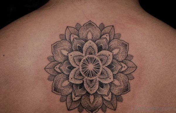 Mandala Tattoo Design On Back