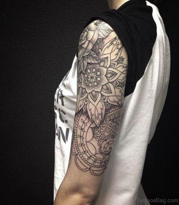 Mandala Tattoo Design For Shoulder
