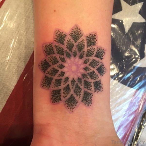 Mandala Tattoo Design On Wrist