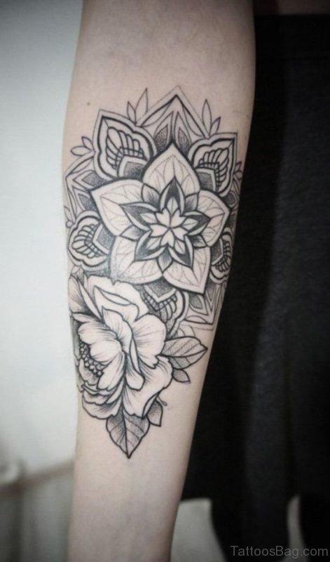 Mandala Tattoo On Arm 4