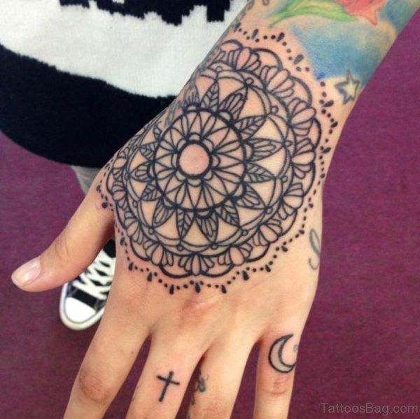 Mandala Tattoo On Hand