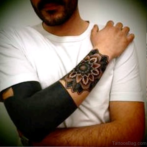Marvelous Black Tattoo On Arm