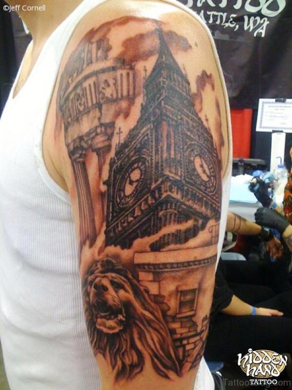 Marvelous Tattoo Design On Shoulder