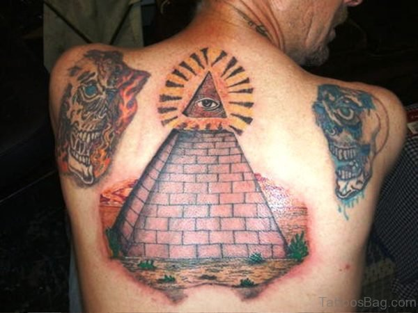 Masonic Tattoo On Back