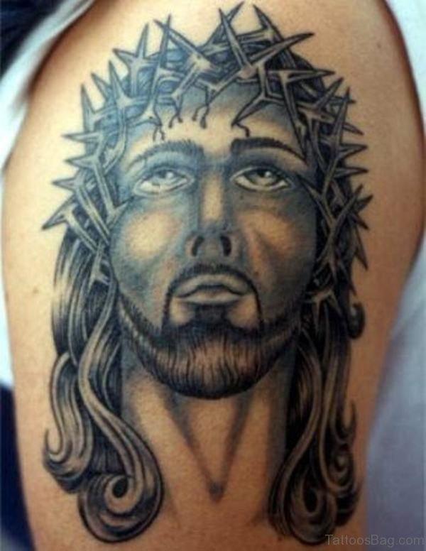 Massive Jesus Tattoo