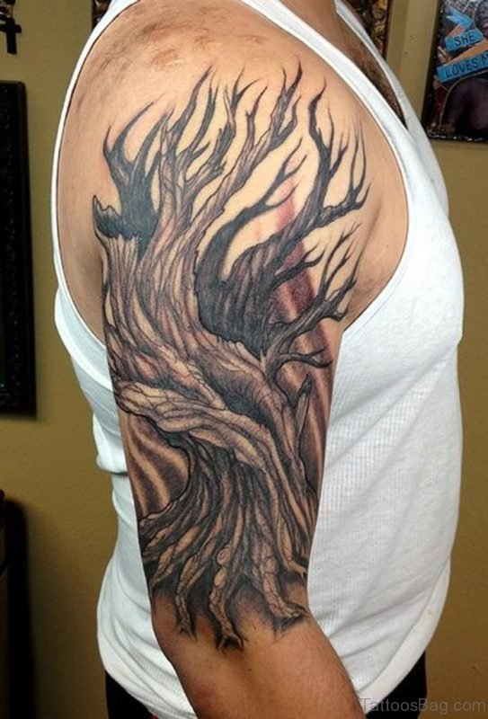 Massive Tree Tattoo