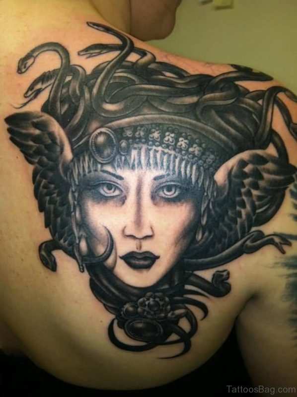 Medusa Tattoo Design On Chest