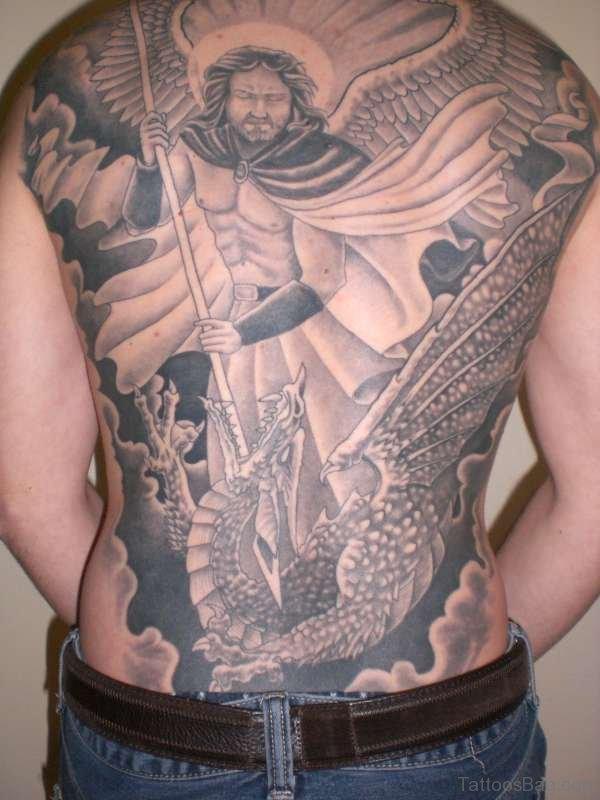 Michael Arch Angel Tattoo