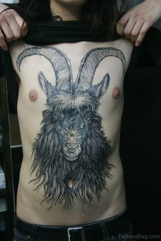 Mind Blowing Aries Tattoo