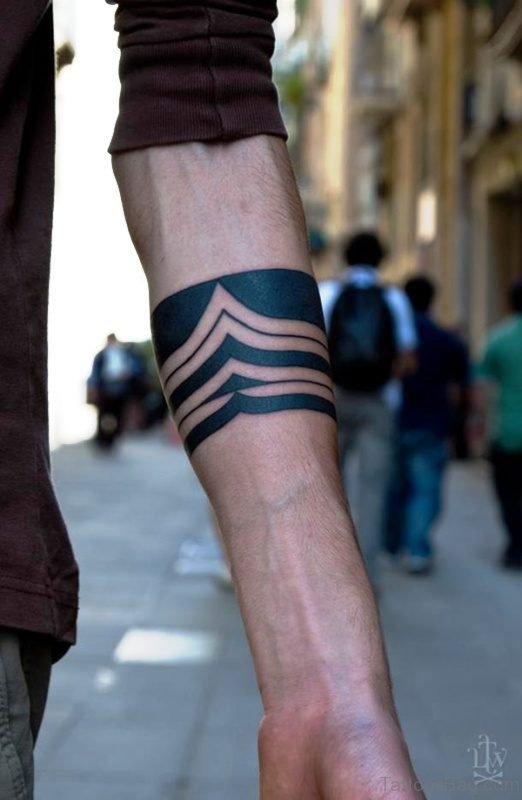 Mind Blowing Black Tattoo Design