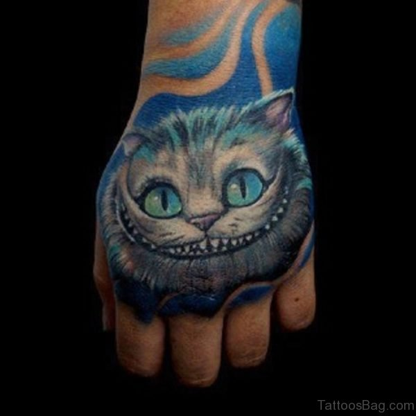 Mind Blowing Cat Tattoo