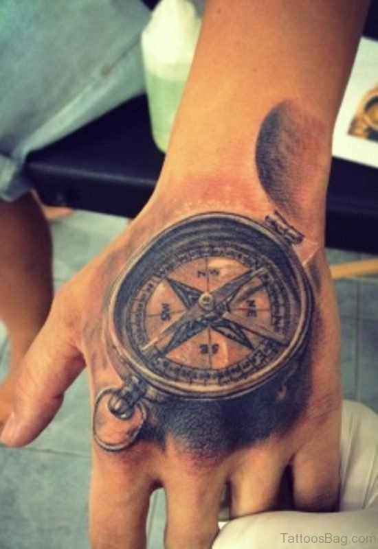 Mind Blowing Compass Tattoo