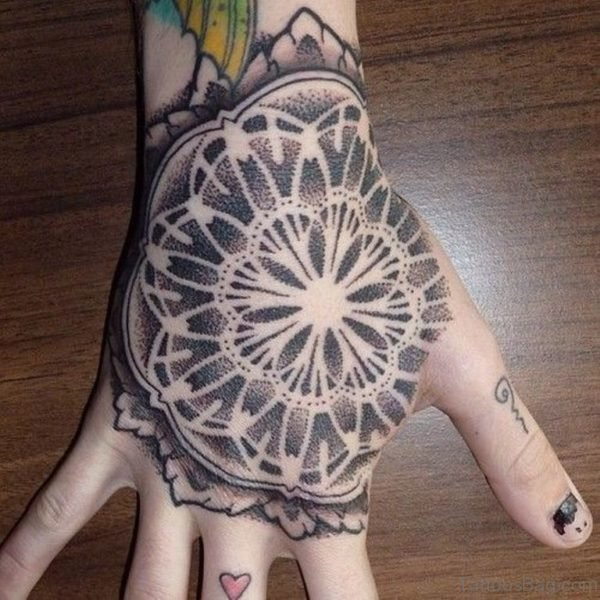 Mind Blowing Mandala Tattoo On Hand