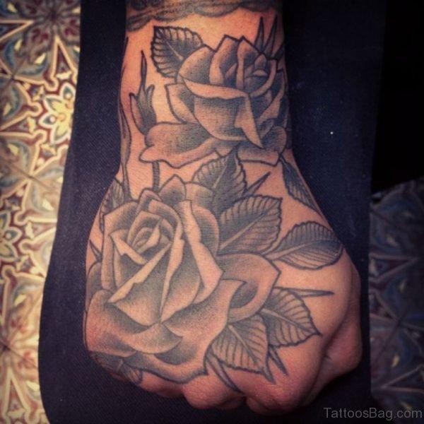 Mind Blowing Rose Tattoo
