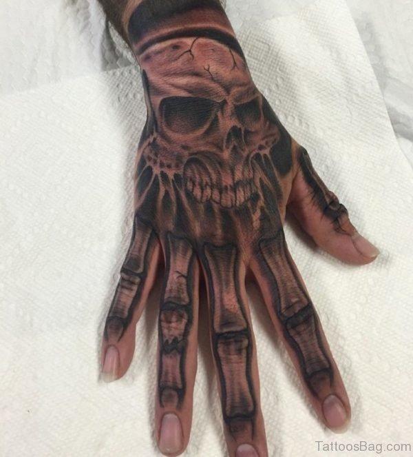Mind Blowing Skull Tattoo
