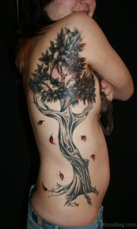 Mind Blowing Tree Tattoo