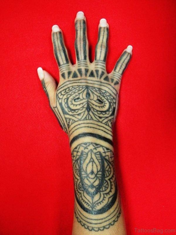 Mind Blowing Tribal Tattoo