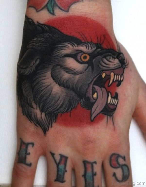 Mind Blowing Wolf Tattoo Design