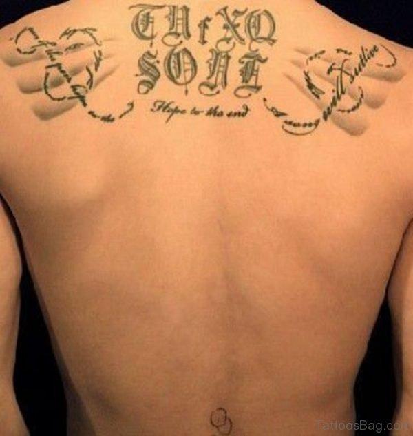 Mind Blowing Word Tattoo