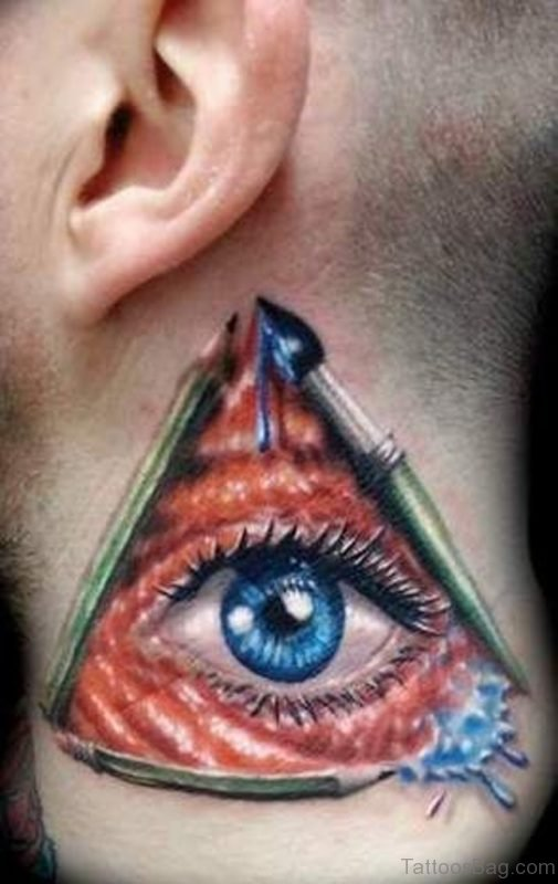 Mind Blwoing Eye Tattoo