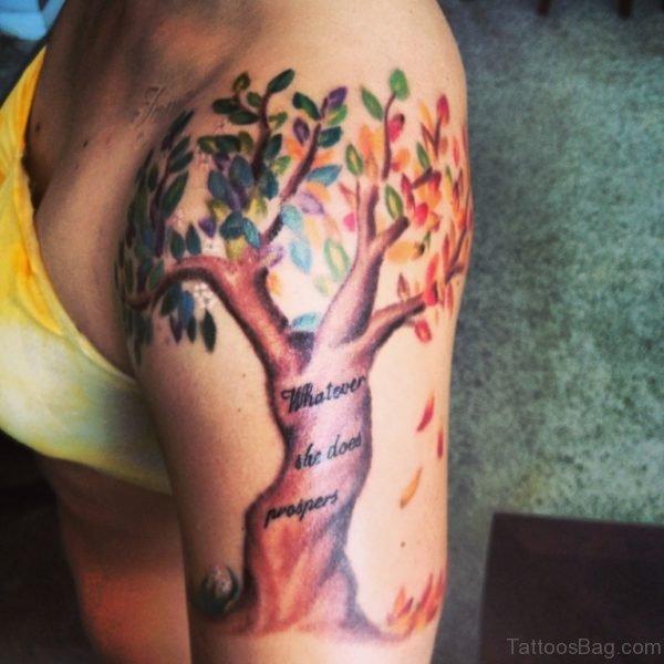Mind Blowing Tree Tattoo