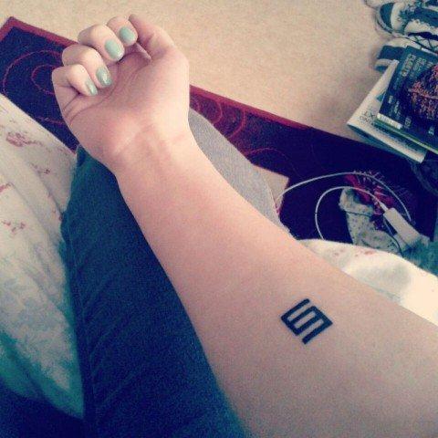 Mini Symbol Tattoo