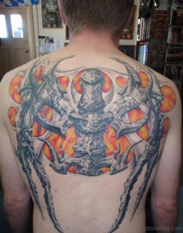 NIce Alien Tattoo