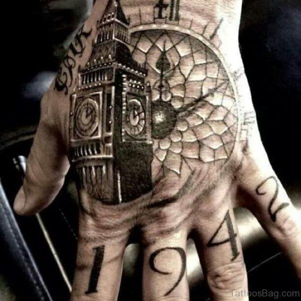 Nice Clock Tattoo