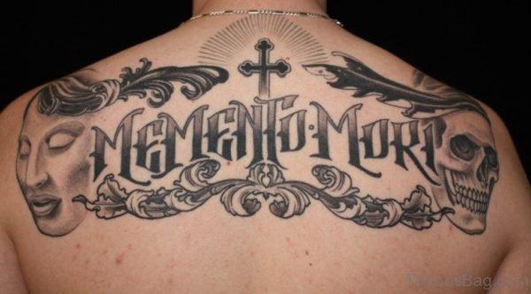 Name And Skull Tattoo