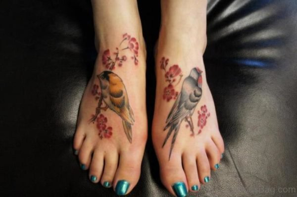 Nice Bird Tattoo Design