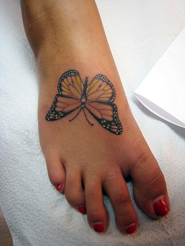 Nice Butterfly Design Ttatoo