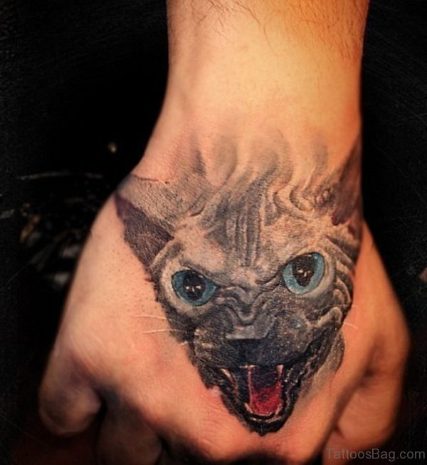 Nice Cat Tattoo
