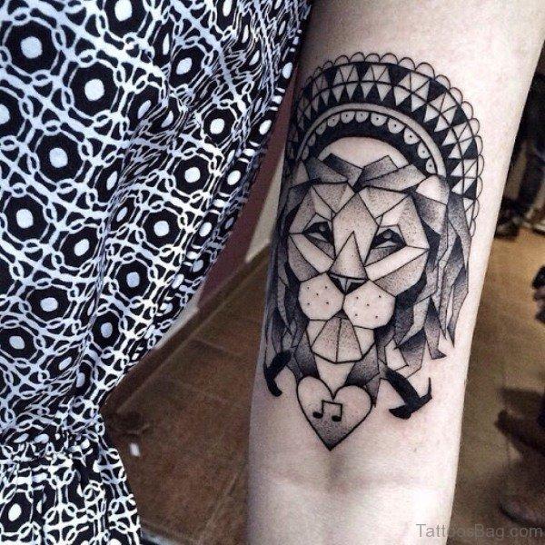 24 Lion Forearm Tattoos Design