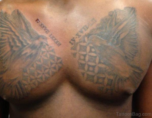 Nice Dove tattoo