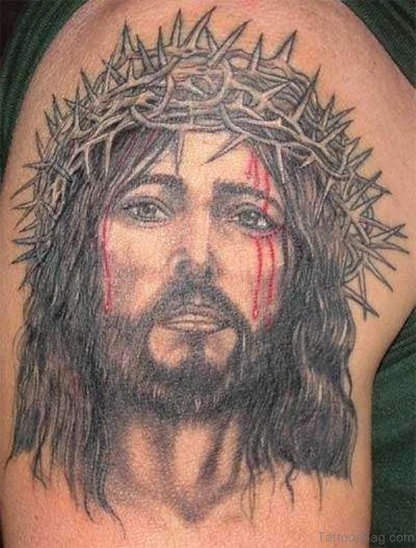 Nice Jesus Tattoo