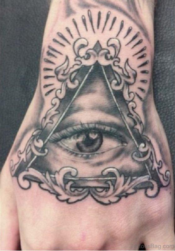 Nice Looking Eye Tattoo