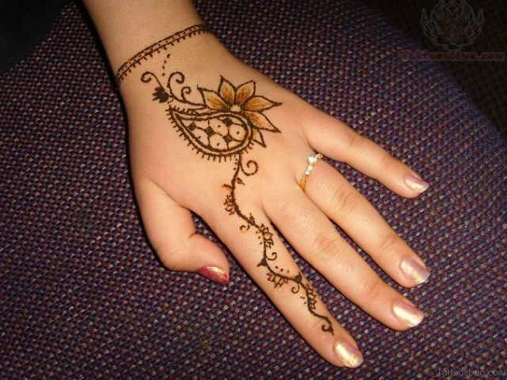 Flower Hand Tattoos For Women