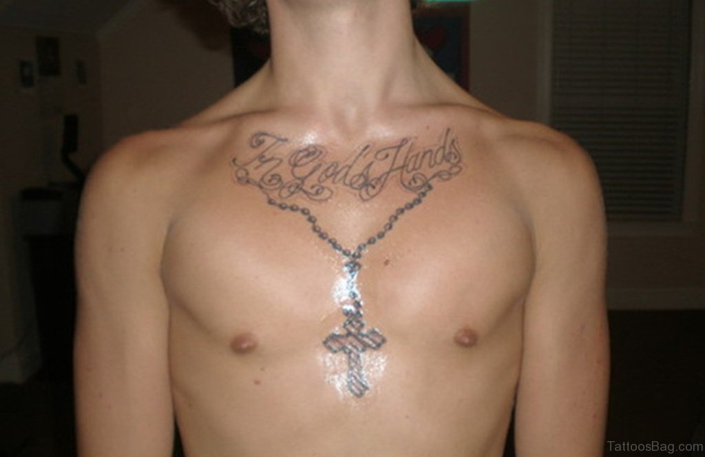 50 best rosary tattoos on chest. Black Bedroom Furniture Sets. Home Design Ideas
